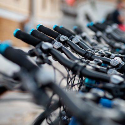 Fahrradfahren für das Klima